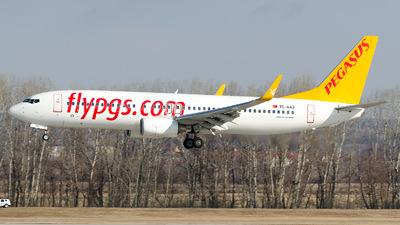 TC-AAJ - Boeing 737-82R - Pegasus Airlines