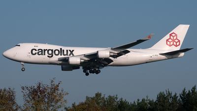 LX-ECV - Boeing 747-4HQF(SCD) - Cargolux Airlines International