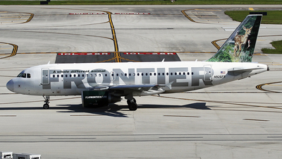 N926FR - Airbus A319-111 - Frontier Airlines