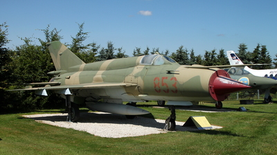 853 - Mikoyan-Gurevich MiG-21bis Fishbed L - German Democratic Republic - Air Force
