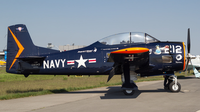 A picture of N343NA - North American T28B - [138343] - © Łukasz Stawiarz