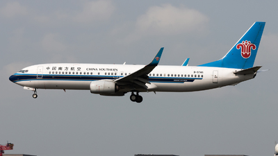 A picture of B5745 - Boeing 73781B - China Southern Airlines - © Lazy Clutch
