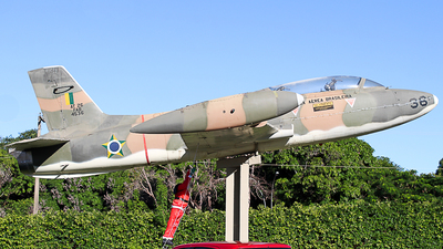 FAB4536 - Aermacchi MB-326 - Brazil - Air Force