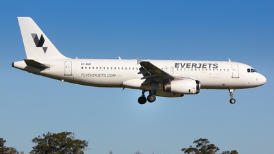 OY-RUP - Airbus A320-231 - EverJets