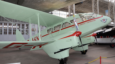 G-AKNV - De Havilland DH-89A Dragon Rapide - Lancashire Aircraft Corporation