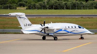 LZ-ASP - Piaggio P-180 Avanti II - Aviostart