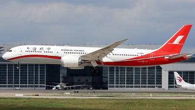 B-208X - Boeing 787-9 Dreamliner - Shanghai Airlines