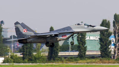 4116 - Mikoyan-Gurevich MiG-29A Fulcrum - Poland - Air Force