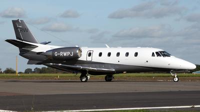 G-RWPJ - Cessna 560XL Citation XLS+ - Catreus