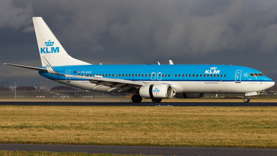 PH-BXD - Boeing 737-8K2 - KLM Royal Dutch Airlines