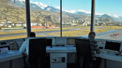 LSGS - Airport - Control Tower