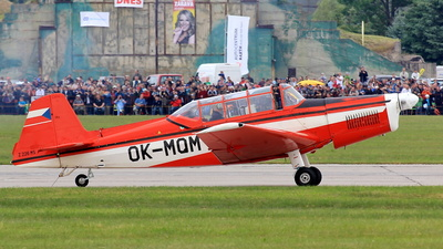 OK-MQM - Zlin Z-226MS Trener - Private