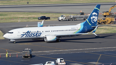 N549AS - Boeing 737-8FH - Alaska Airlines