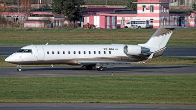 VQ-BOV - Bombardier CL-600-2B19 Challenger 850 - Rusline