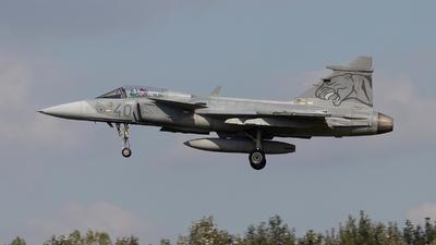40 - Saab JAS-39C Gripen - Hungary - Air Force