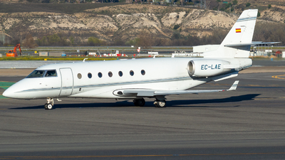 EC-LAE - Gulfstream G200 - Gestair Private Jets