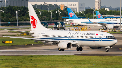 B-5179 - Boeing 737-86N - Air China