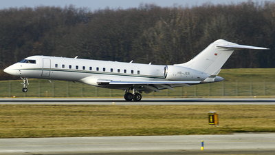 HB-JER - Bombardier BD-700-1A10 Global Express - Air King Jet