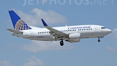 N46625 - Boeing 737-524 - Continental Airlines
