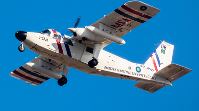 08 - Britten-Norman BN-2T Turbine Islander - Pakistan - Maritime Security Agency