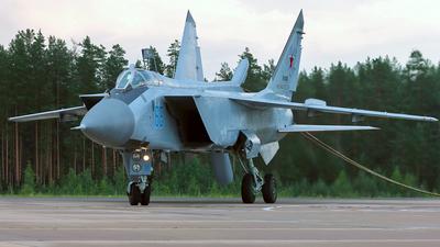 RF-92343 - Mikoyan-Gurevich MiG-31BM Foxhound - Russia - Navy