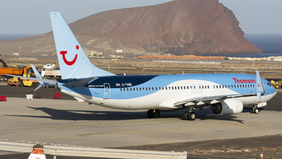 G-TAWC - Boeing 737-8K5 - Thomson Airways