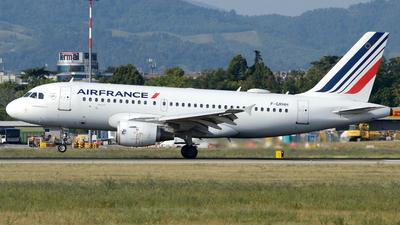 A picture of FGRHH - Airbus A319111 - Air France - © Donato Bolelli