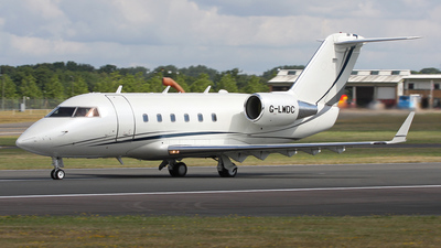 A picture of GLWDC - Bombardier CL601 Challenger - [3031] - © Graham Perkin
