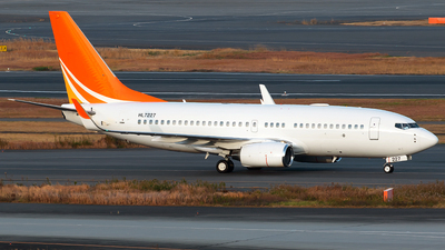 HL7227 - Boeing 737-7HF(BBJ) - Private
