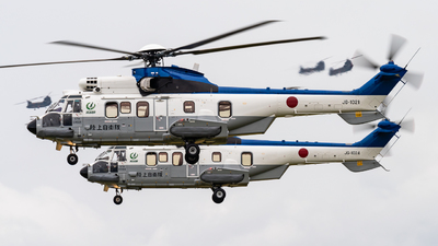 01021 - Eurocopter EC 225LP Super Puma II+ - Japan - Ground Self Defence Force (JGSDF)