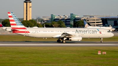 N546UW - Airbus A321-231 - American Airlines