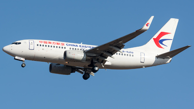 A picture of B5259 - Boeing 73779P - China Eastern Airlines - © BobH