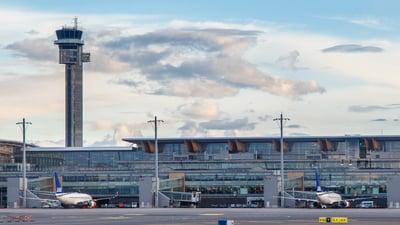 ENGM - Airport - Terminal