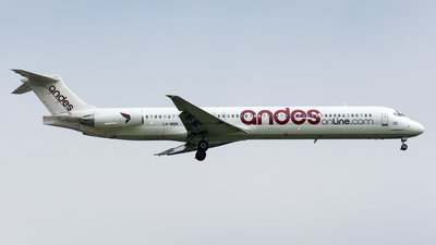LV-WGN - McDonnell Douglas MD-83 - Andes