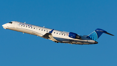 A picture of N535GJ - Mitsubishi CRJ550 - United Airlines - © Kevin Cargo