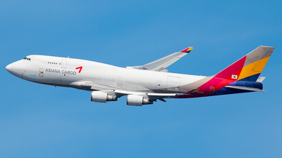 HL7414 - Boeing 747-48E(BDSF) - Asiana Cargo