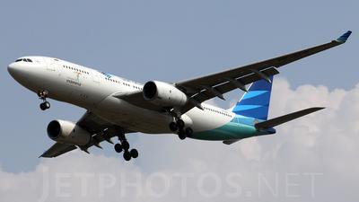 PK-GPN - Airbus A330-243 - Garuda Indonesia