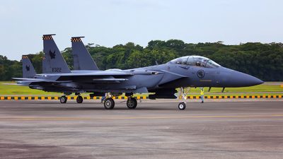8322 - Boeing F-15SG Strike Eagle - Singapore - Air Force