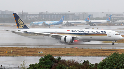 9V-SCB - Boeing 787-10 Dreamliner - Singapore Airlines