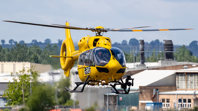 G-EMSS - Airbus Helicopters H145 - Babcock Mission Critical Services Onshore