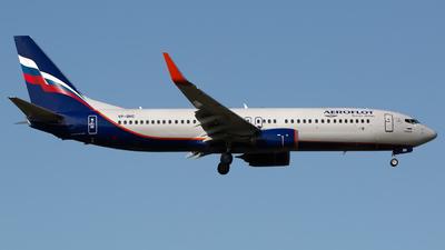 A picture of VPBNC - Boeing 7378LJ - Aeroflot - © Chris Pitchacaren