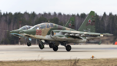 RF-92257 - Sukhoi Su-25UB Frogfoot - Russia - Air Force
