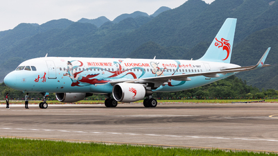 A picture of B1867 - Airbus A320214 - Loong Air - © ZUCK-ZX