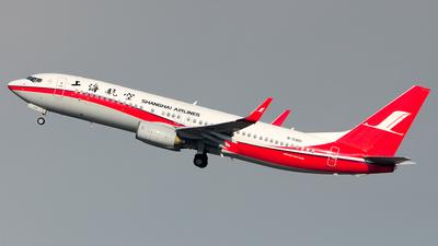 B-5461 - Boeing 737-86D - Shanghai Airlines