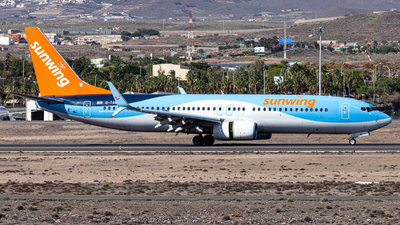A picture of GTAWV - Boeing 7378K5 - TUI fly - © Jan H