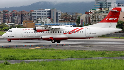 B-28068 - ATR 72-212A(600) - Far Eastern Air Transport (FAT)