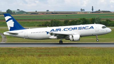 F-HZDP - Airbus A320-216 - Air Corsica