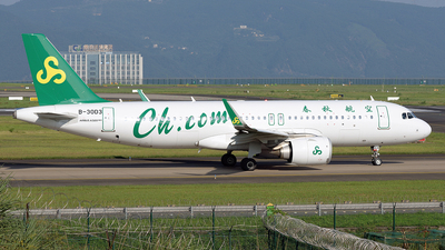 A picture of B30D3 - Airbus A320251N - Spring Airlines - © BCG554