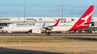 A picture of VHVYI - Boeing 737838 - Qantas - © Andrew Lesty