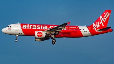 9M-AJV - Airbus A320-216 - AirAsia